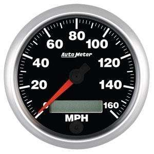 Auto Meter 5688 Elite Series 3 3/8 160 mph In Dash
