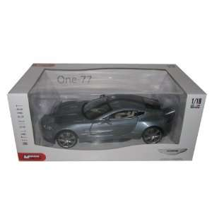 Aston Martin One 77 Light Blue 118 Diecast Model Car