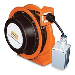 Hubbell Gca12325 Dr Industrial Duty Cord Reel With G.F.C.I
