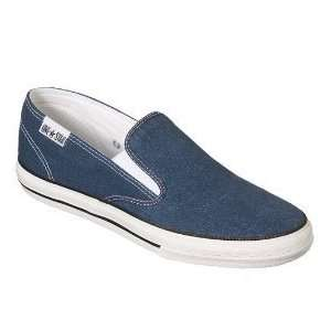 Mens Converse One Star Blue Canvas Slip Ons