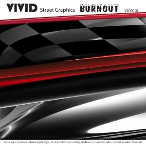 BURNOUT ANY BOAT or Vehicle CAR Truck Graphic Decal