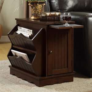 Monarch Specialties I 4519 Magazine End Table