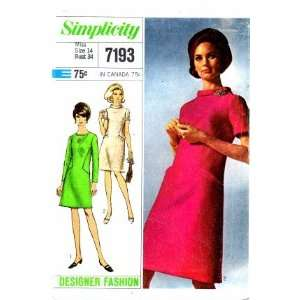 Designer Fashion A line Dress Size 14   Bust 34 Arts, Crafts & Sewing
