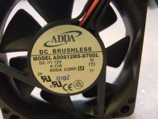 NEW DELL OPTIPLEX SFF 160W POWER SUPPLY D6370 DC FAN ADDA 12V AD0612MS