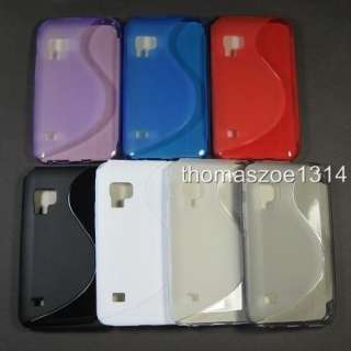 Soft TPU Gel Case Cover Skin Protector For Samsung Galaxy S WiFi 5.0