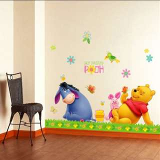 Pooh Kids Disney Wall STICKER Removable Decal