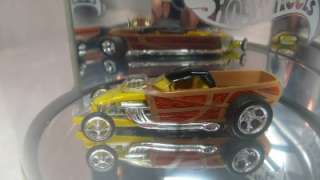 2003 Hot Wheels Custom Woody Pickup Truck Series 3 of 4