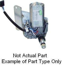 2002 CHEVY TAHOE REAR WIPER MOTOR