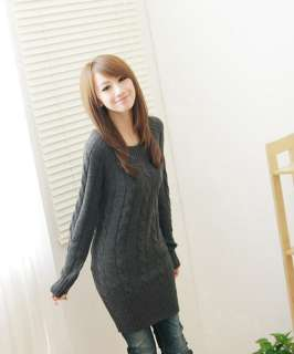 FASHION ON MOON CREW NECK LONG SLEEVE SWEATER TOP 1438