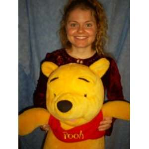 Disney Talking Winnie The Pooh I TALK GIANT 28 Tall Plush Talking