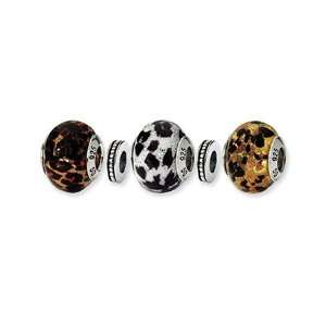 Running Wild Murano Glass Charm Set
