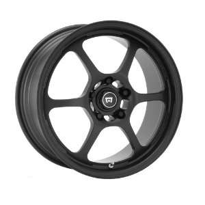 Motegi Traklite2 15x7 Black Wheel / Rim 4x100 with a 35mm Offset and a