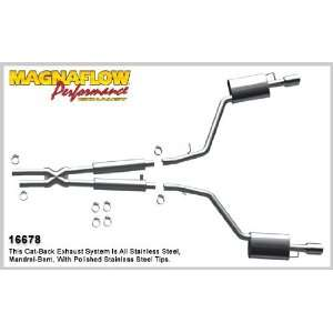 MagnaFlow Performance Exhaust Kits   2005 Lincoln LS 3.0L