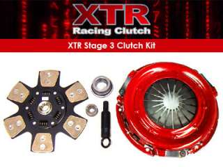 XTR RACING STAGE 3 CLUTCH KIT 99 04 FORD MUSTANG COBRA SVT MACH 1 GT