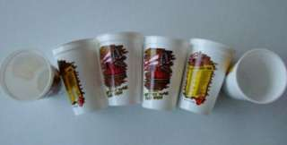 UNUSED ORIGINAL ROLLING STONES VOODOO LOUNGE TOUR EVENTS BEER CUPS