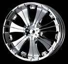 20 Veloche Villano 950 Custom Chrome Wheels RWD/TRK