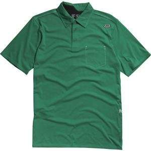 Fox Racing Outfoxed Polo   Small/Green Automotive