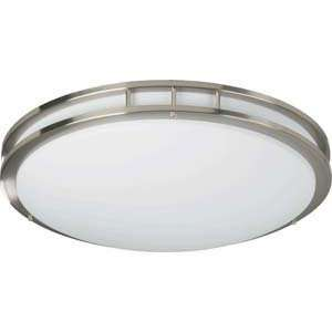 Quorum International 87223 2 65 Nickel Flush Mount