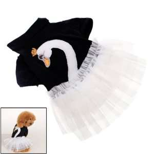 Pet Dog Tulle Skirt Dress Apparel Size M
