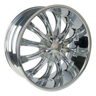 Wheel + Tire Packages 28 inch Triple chrome rims B15