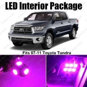Toyota Tundra PINK Interior LED Package (10 Pieces)