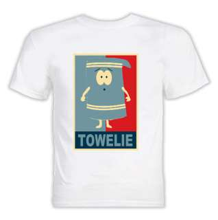 South Park Towelie Hope T Shirt White