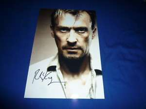 ROBERT KNEPPER signed autograph In Person PRISON BREAK