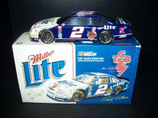 ACTION 124 RUSTY WALLACE ML ELVIS TCB FORD TAURUS EXC