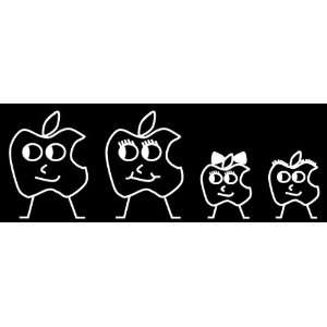APPLE Family Car Decals Stickers ORIGINAL DURABLE NEW