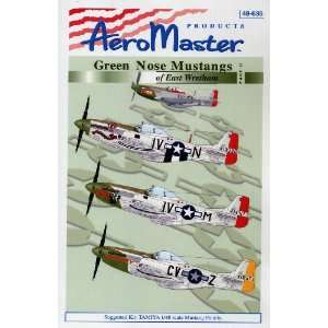 Nose Mustangs, Part 2 359th Fighter Group (1/48 decals) Toys & Games