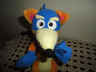 Dora Explorer TALKING SWIPER FOX Plush Fisher Price