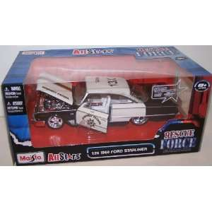 Maisto All Stars Rescue Force 1/26 Scale Diecast 1960 Ford