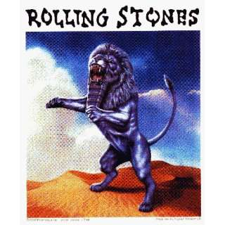 Rolling Stones   Lion in Desert   Sticker / Decal