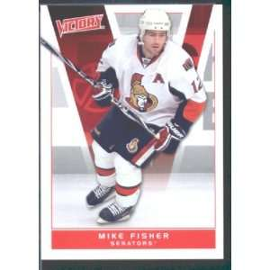 2010/11 Upper Deck Victory Hockey # 133 Mike Fisher Senators / NHL