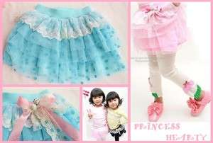 NWT BOUTIQUE GIRL Cutie Sweet Dots Lace Bow Tulle Tutu Skirt 2 Colors