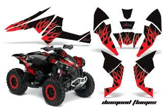 AMR RACING ATV GRAPHIC STICKER KIT OFF ROAD QUAD DECAL WRAP CANAM