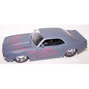 Scale Diecast Big Time Muscle 1969 Chevy Camaro in Color Primer Gray