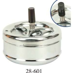 High Quality New Chrome Large Metal Ashtray
