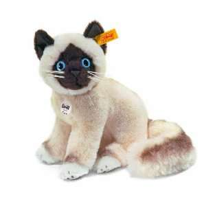 Cattie sacred birman cat, cream/dark brown Toys & Games