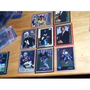 Charles Woodson lot of 8 different Rookie 1998 football trading cards