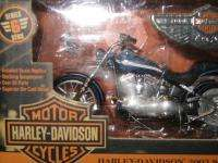 ERTL COLLECTIBLES HARLEY DAVIDSON 2003 SOFTAIL DEUCE 118 DIE CAST NIB
