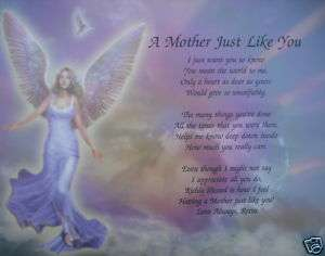 MOTHER LIKE YOU PERSONALIZED POEM GIFT IDEA FOR MOM