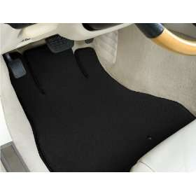 Fiat 124 Black Lloyd Mats Custom Fit Luxe Floor Mats Front and Rear