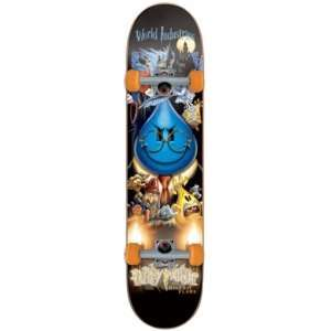 World Industries Wet Willy Water Complete Skateboard   7.5