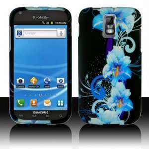 Bundle Accessory for Samsung T Mobile Galaxy S2 II   Blossoming Blue