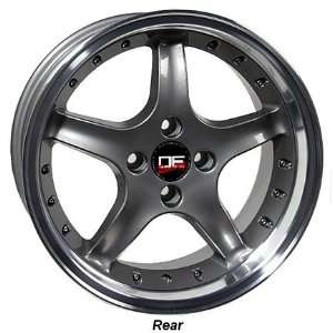 DEEP DISH FORD MUSTANG 17 INCH COBRA R WHEELS RIMS Automotive