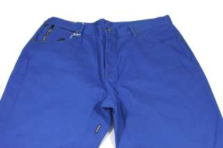 Mens Parish Jeans Royal Blue w/ Studs Big & Tall 44x34