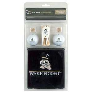 Wake Forest Demon Deacons College NCAA Golf Logo Gift Set