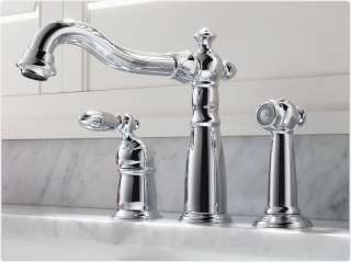Delta 155 DST Victorian Single Handle Kitchen Faucet with