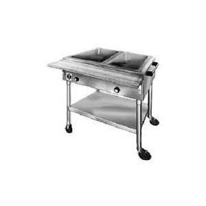 240 Volts Eagle Group PDHT2 Portable Electric Hot Food